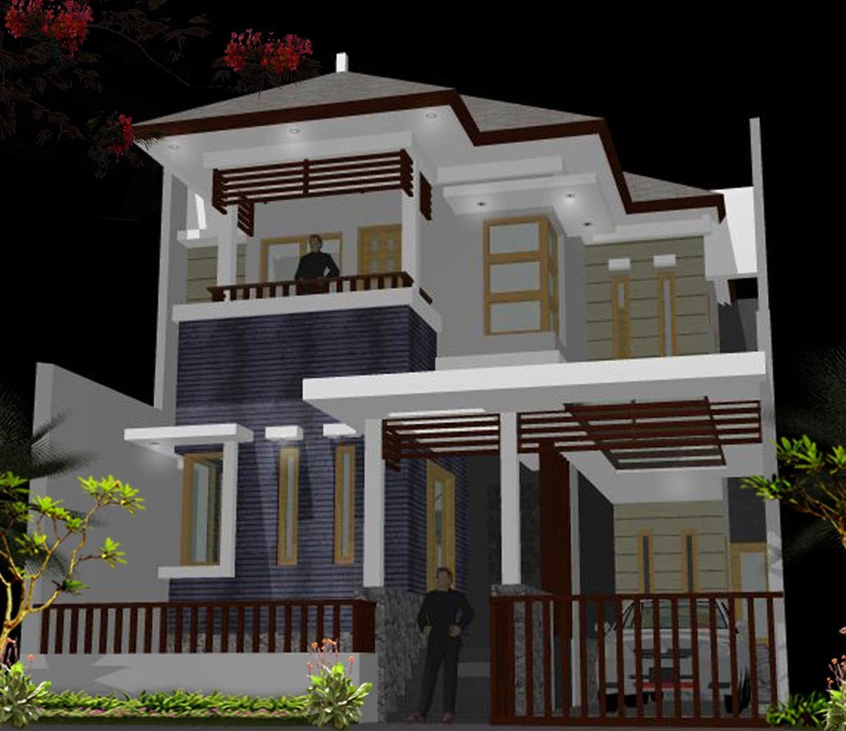 Model Rumah Minimalis Full Bangunan Desain Rumah Modern