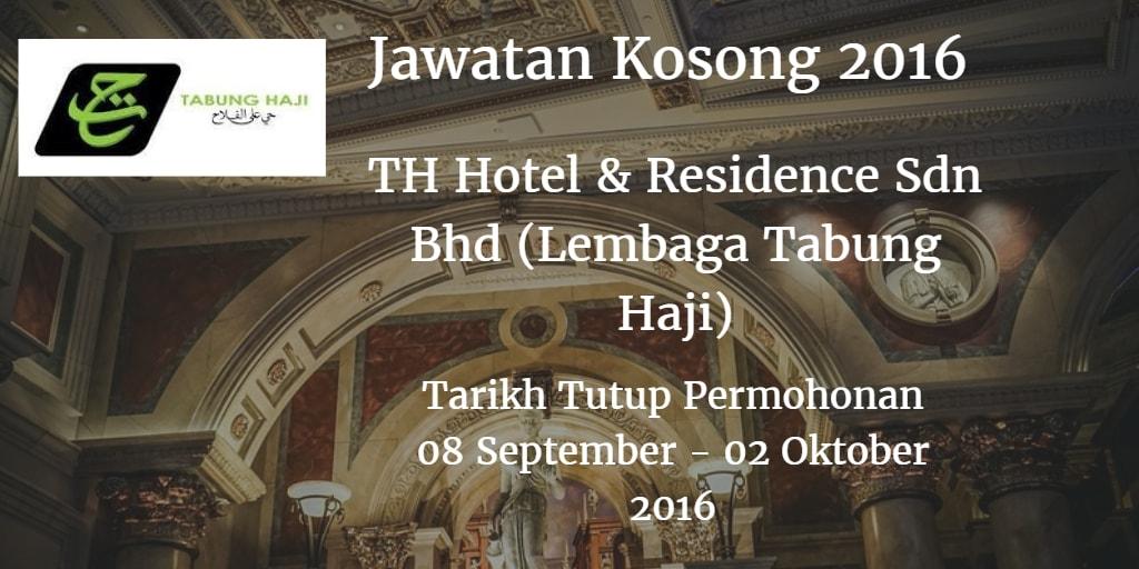 Jawatan Kosong Lembaga Tabung Haji 08 September - 02 Oktober 2016