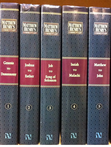 MATTHEW HENRY BIBLE COMMENTARY FORMATTED INTO 66 KINDLES