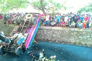kecelakaan truk tangki