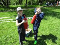 (ФОТО)Соревнования Юных пожарных