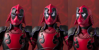 Marvel Deadpool Meisho Manga Realization Action Figure by Bandai Tamashii Nations