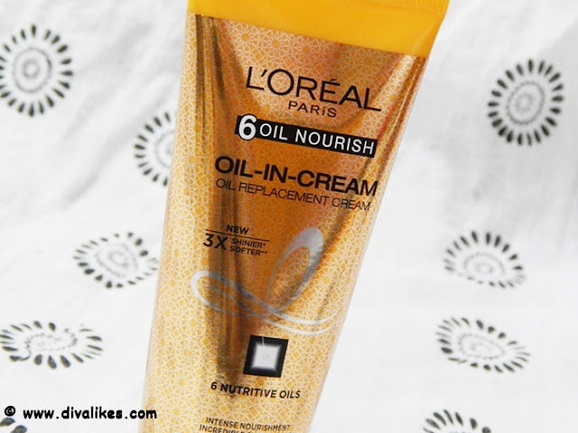 L'Oreal Paris 6 Oil Nourish Oil-in-Cream