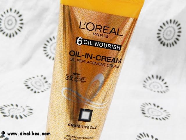 L'Oreal Paris 6 Oil Nourish Oil-in-Cream