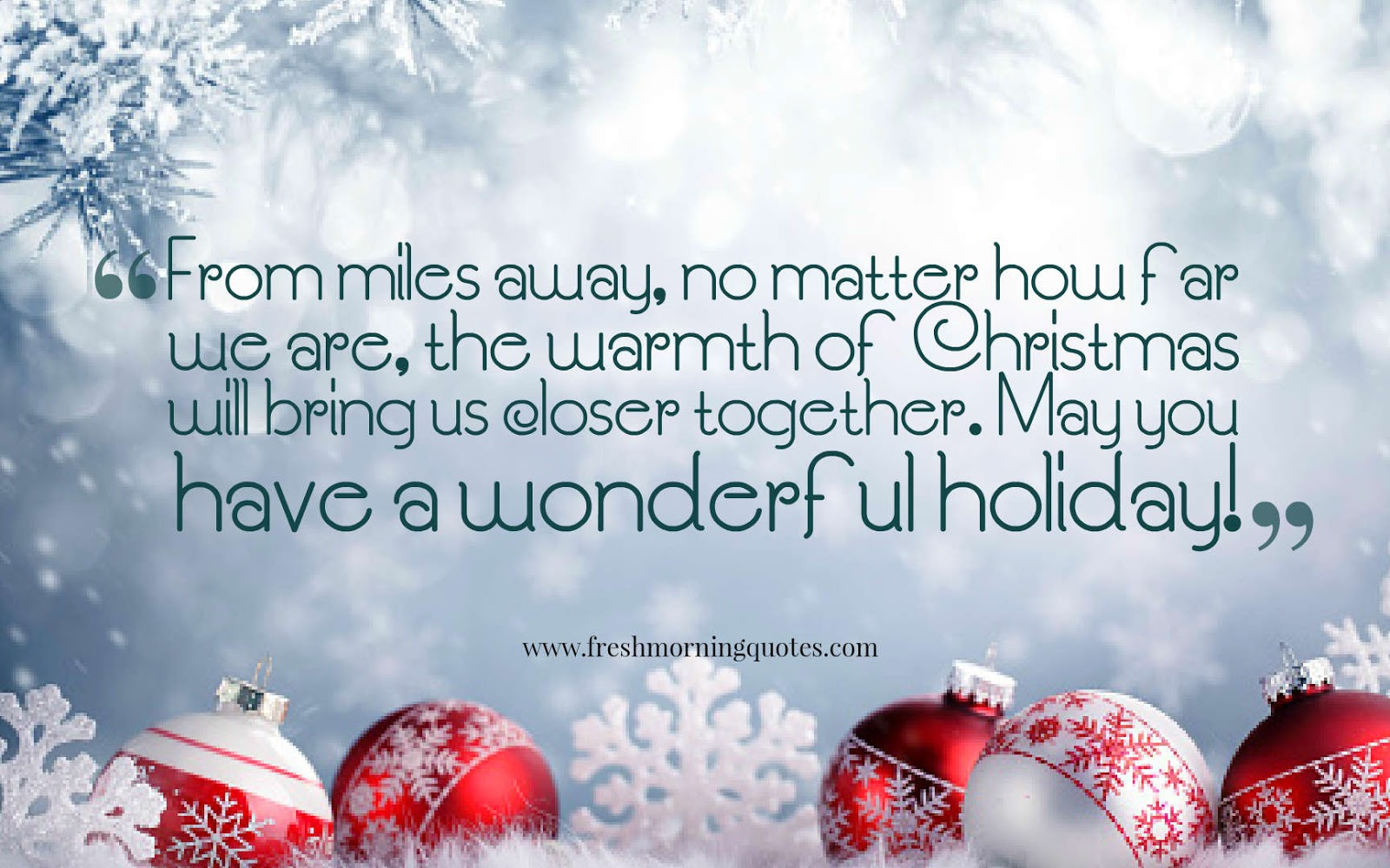 Christmas will bring us together quotes