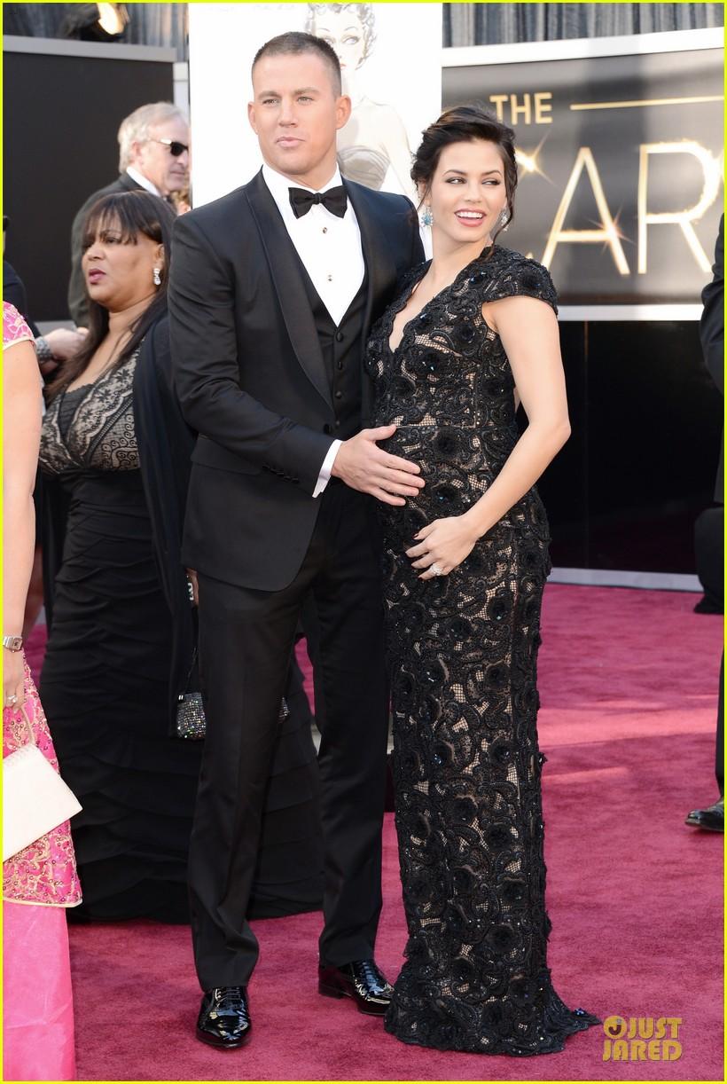 Celeb Diary: Channing Tatum & Jenna Dewan @ The Oscars 2013 ченнинг татум и жена