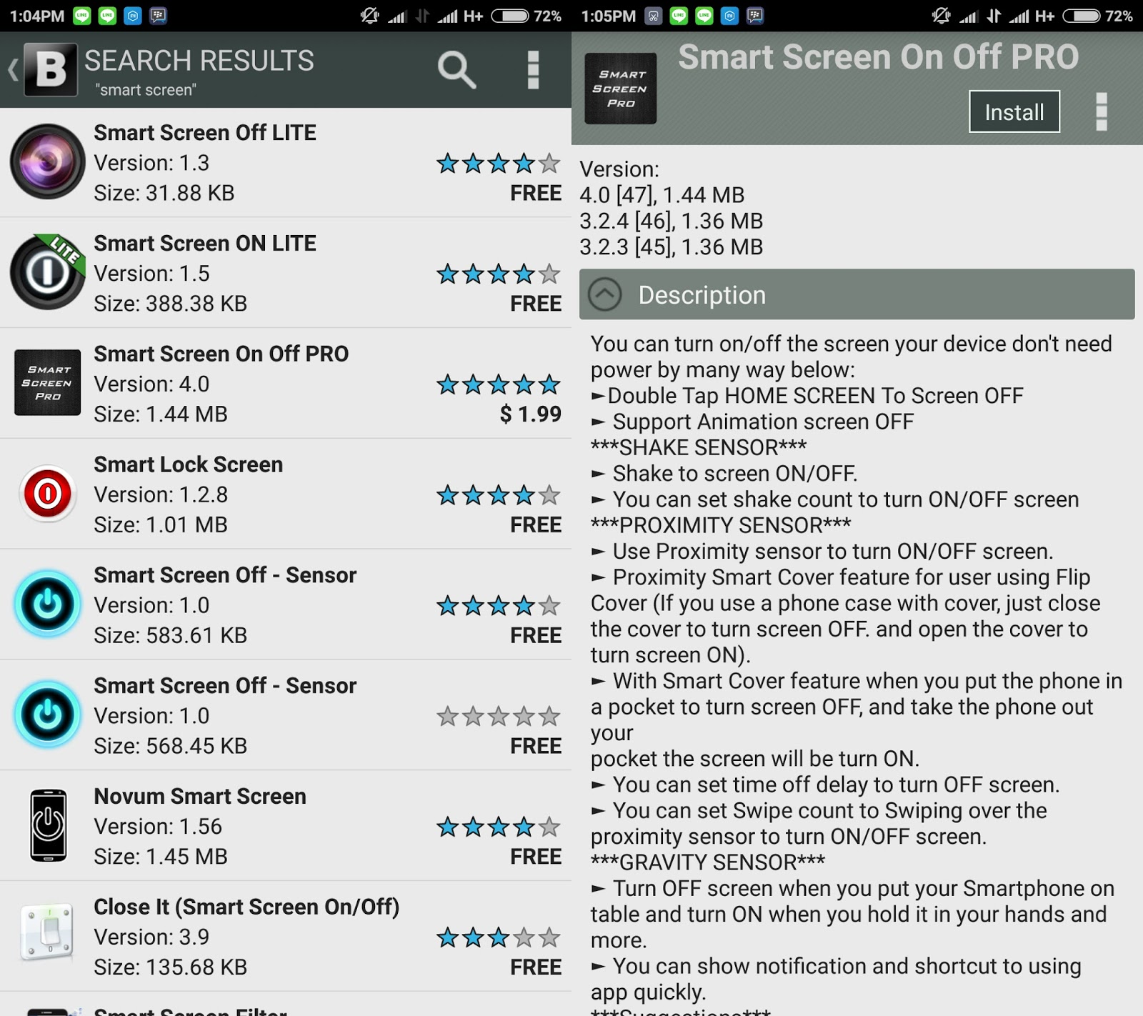 Unlock Screen Dengan Sensor Gerak Di Xiaomi Redmi Note 2