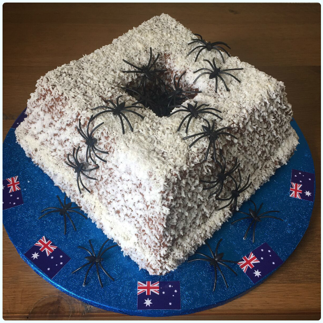 Lamington Bundt
