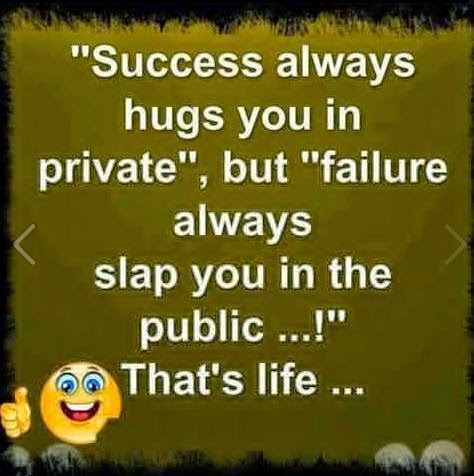 Quotes on Life Wallpaper Image - Sucess Always Hugs you