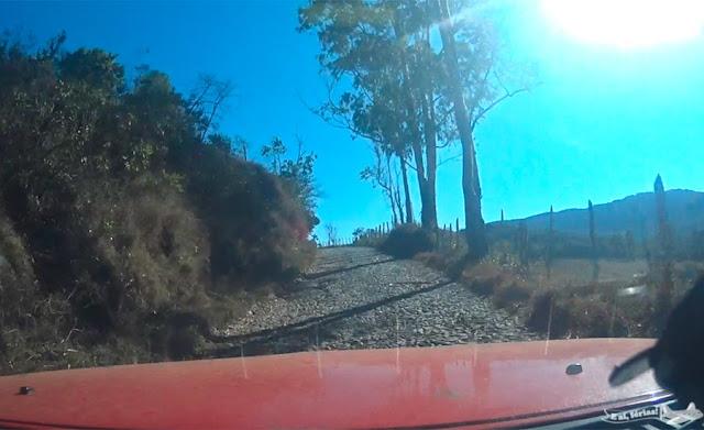 Caminho velho, Estrada Real, entre Bichinho e Tiradentes