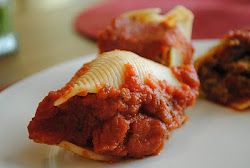 Saucy Stuffed Shells