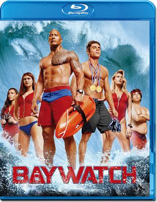 Baywatch 2017 Daul Audio ORG 720p BRRip 600Mb ESub HEVC x265