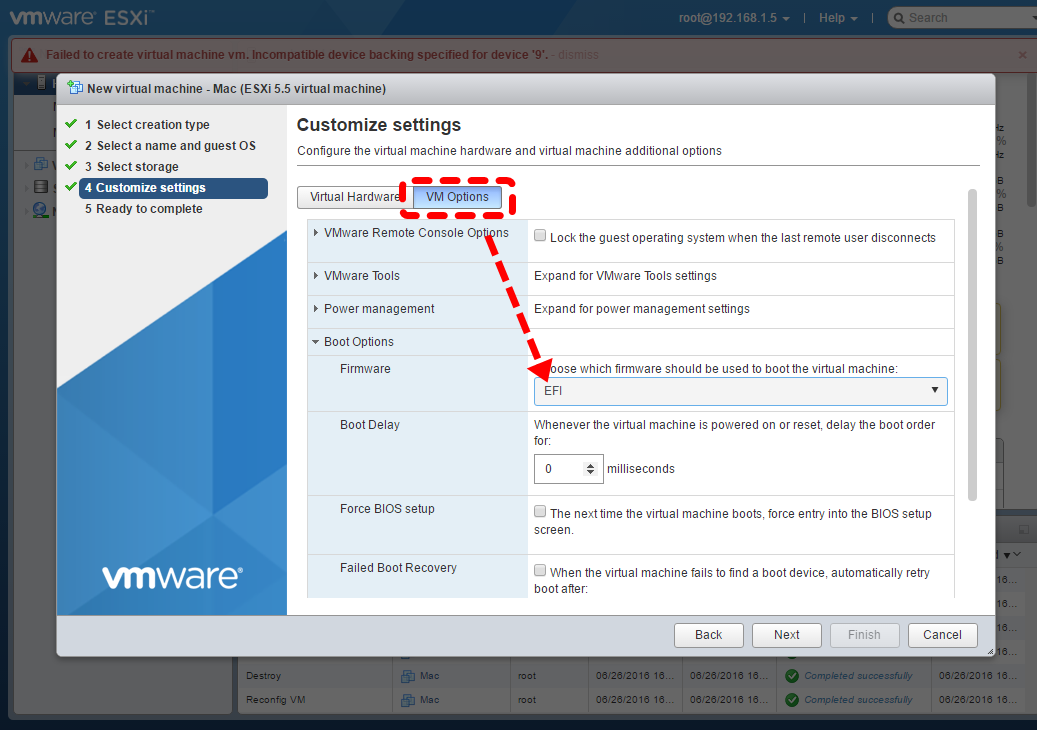 Configuring VMware ESXi as a Workstation