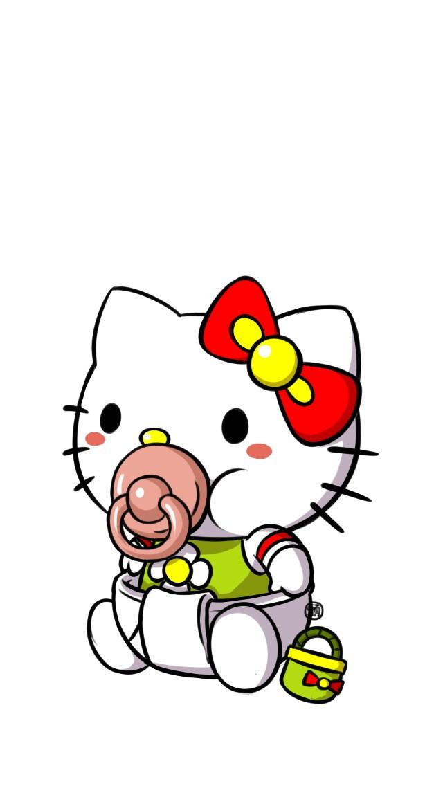 Sweet hello kitty clip art oh my fiesta in english - Hello kitty bebe ...