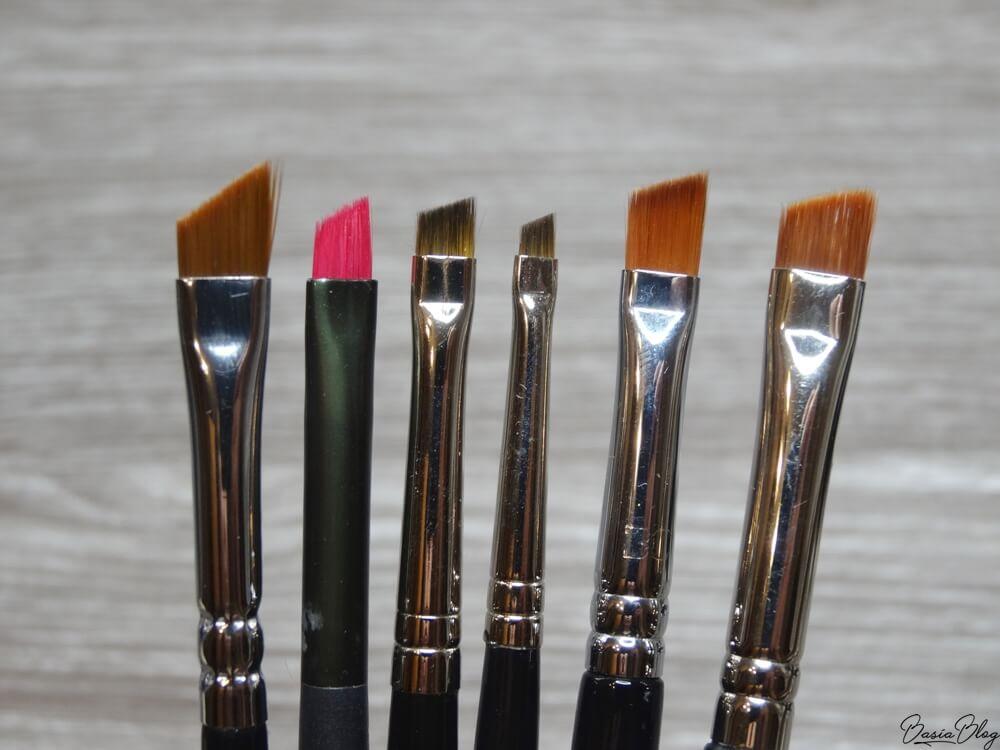 Zoeva 317, Essence skośny, Maestro 660 r. 4, Maestro 660 r. 2, Beauty Crew BCE-75, Hakuro H85