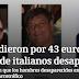 """Jalisco: """"Los vendieron por 43 euros"""": familiar de italianos desaparecidos"""