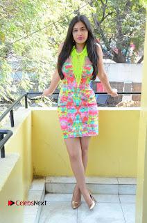 Telugu Actress Prasanna Stills in Short Dress at Inkenti Nuvve Cheppu Press Meet Stills  0183.JPG
