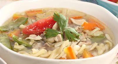 Resep Sup Ayam Makaroni Istimewa