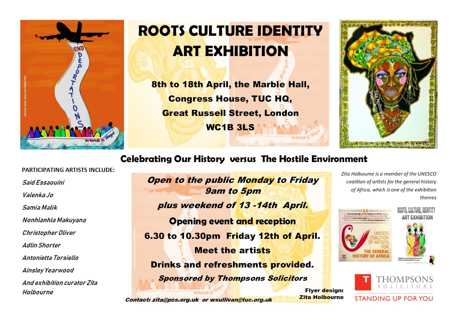 286933dd6 ROOTS CULTURE IDENTITY ART EXHIBITION - CELEBRATING OUR HISTORY VERSUS THE  HOSTILE ENVIRONMENT 8 TO 18 APRIL 2019