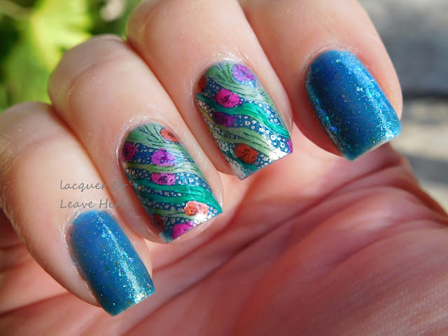 Under Da Sea with Zoya Muse and UberChic Beauty Sweet April