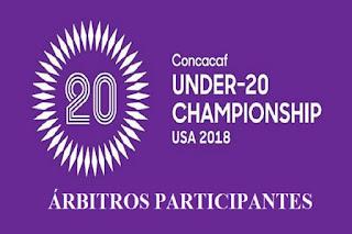 arbitros-futbol-CONCACAF-U20