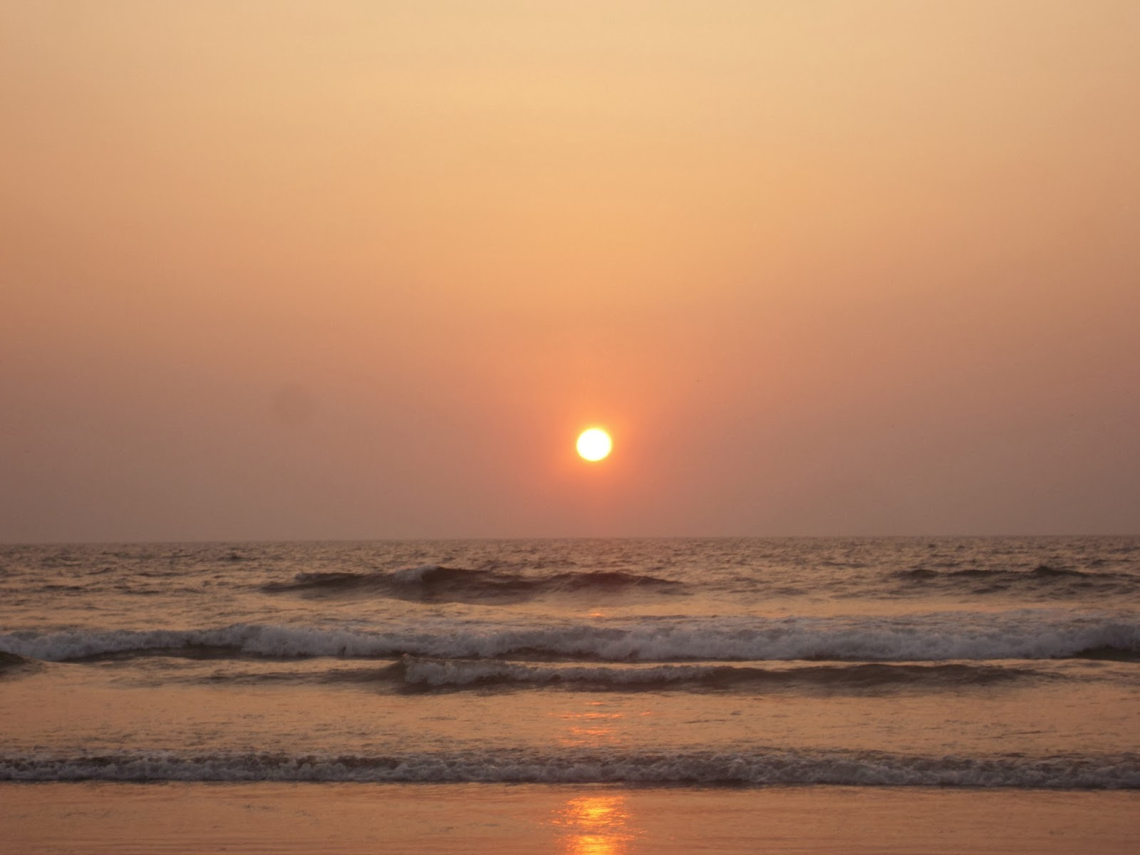 Sunset at Ganapatipule Beach