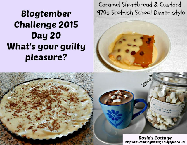 Blogtember Day 20 Whats your guilty pleasure