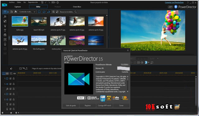Features of CyberLink PowerDirector Ultimate 15.0.2026.0 Multilingual Free Download