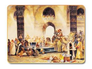 حكاية أعرابي مع جرير والفرزدق في حضرة الخليفة عبدالملك بن مروان
