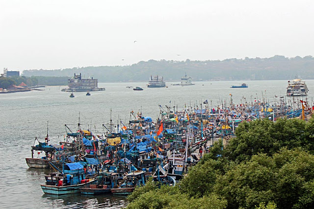 fishing boats of Goaa