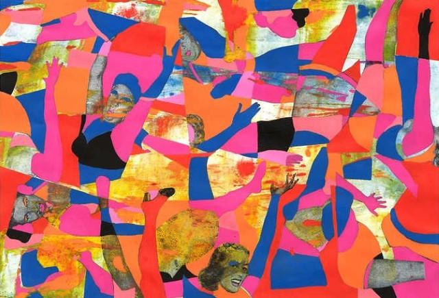Коллажи и изобразительное искусство. Laurie Raskin 28
