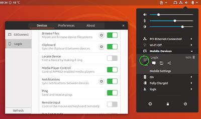 GSConnect Ubuntu