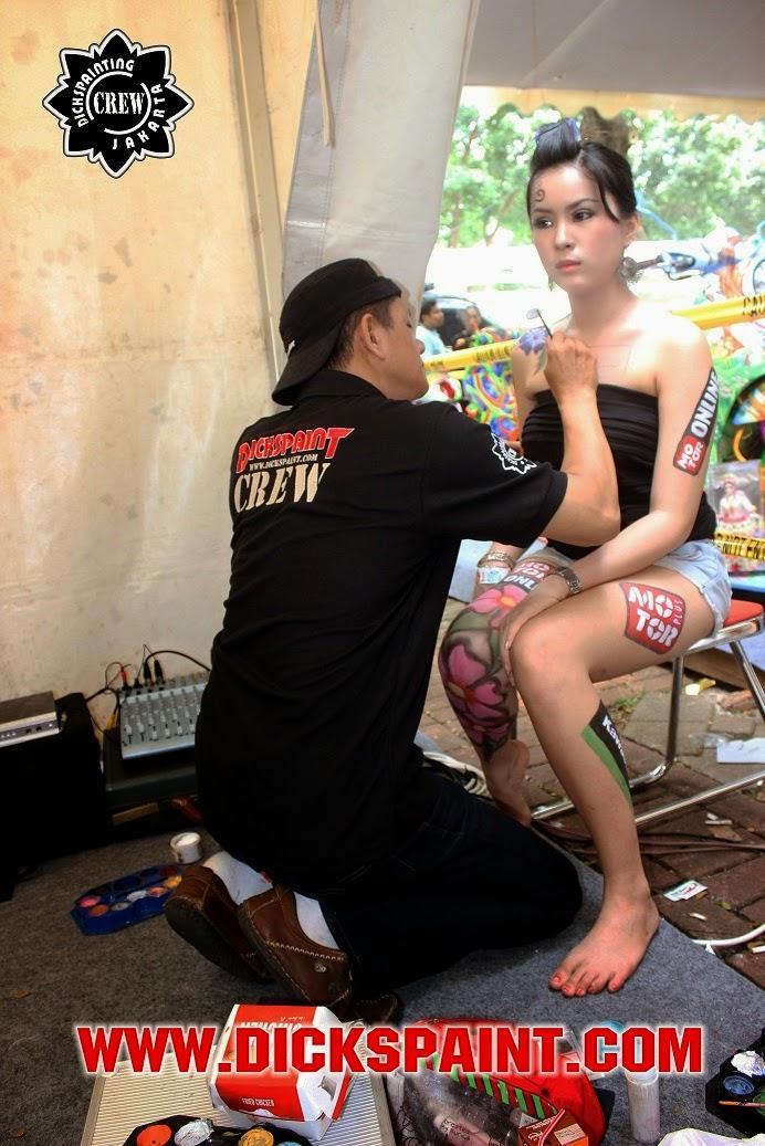 body painting kasawaki jakarta