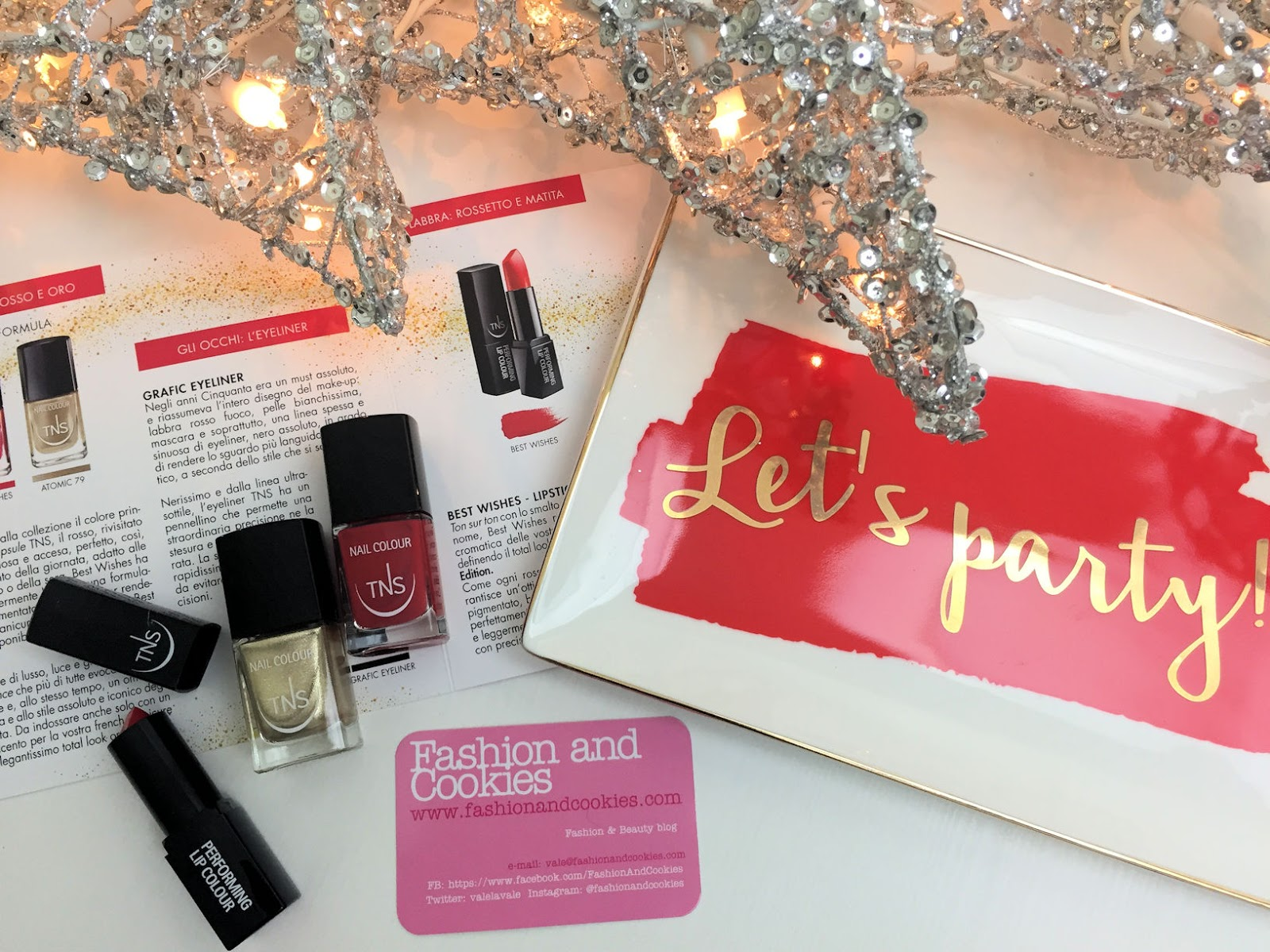 TNS Cosmetics Best Wishes Collection on Fashion and Cookies beauty blog, beauty blogger
