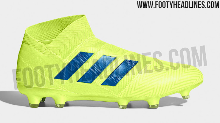 b2045861db5b This image shows the first 2019 colorway for the Adidas Nemeziz 18+ boot.