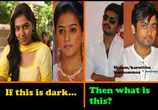Dark definition being different for women and men - Indians