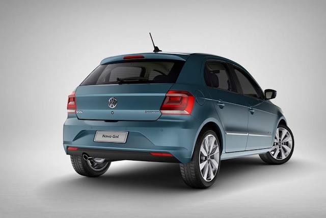 VW Gol 2017 Azul Lagoon