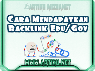 Backlink berkualitas edu and gov
