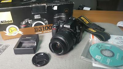 Kelengakapan Box kamera Nikon D3100