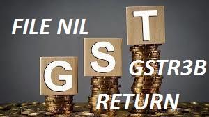 GSTR 3B NIL RETURN