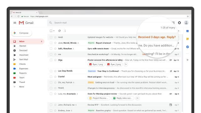 """Ora Gmail ti """"spinge"""" in modo intelligente (e sottilmente) quando devi dare la priorità alle azioni nella tua casella di posta."""