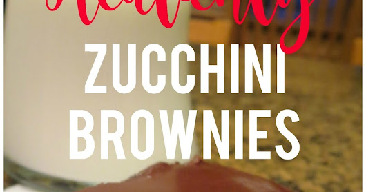 The BEST Zucchini Brownies