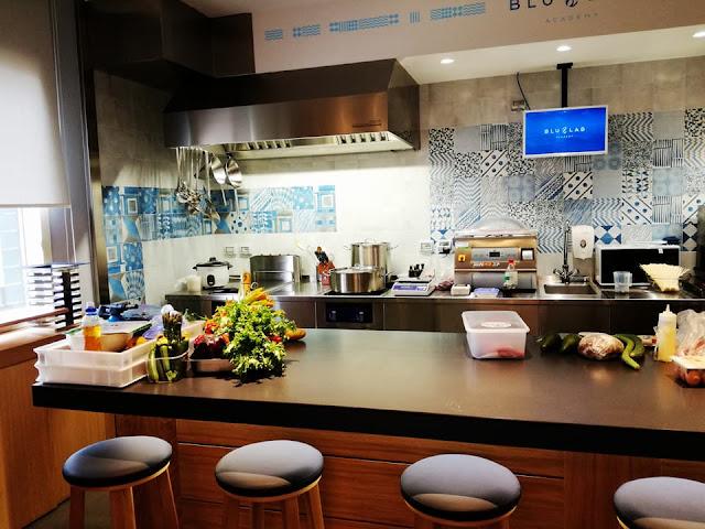 blu lab academy corsi cucina