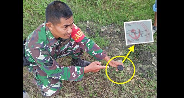 Anggota TNI Berhasil Sita Stempel Perusahaan Mirip Logo Palu Arit
