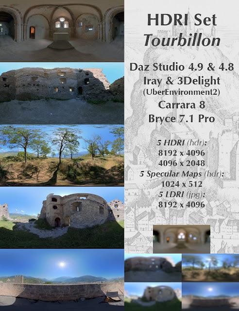 HDRI Set Tourbillon