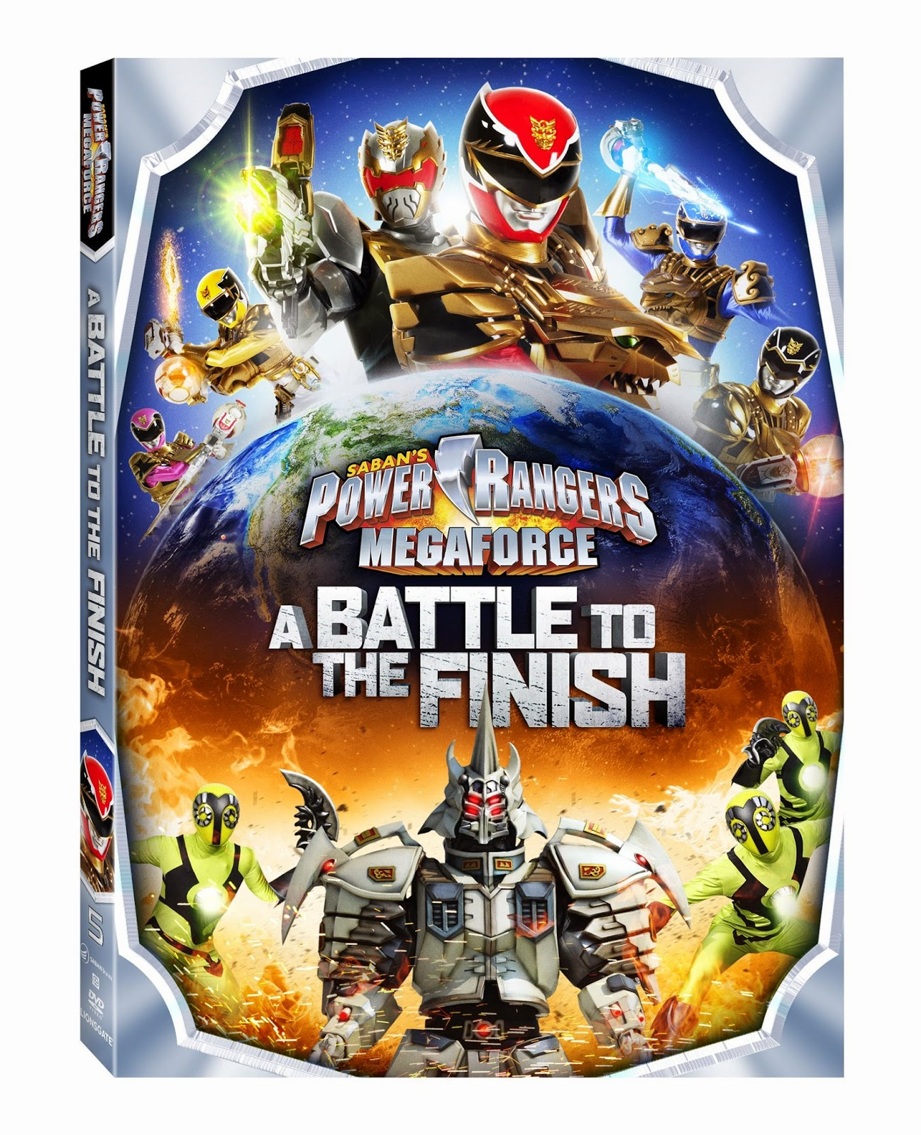 DVD Review - Power Rangers Megaforce: A Battle to the Finish