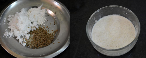 ground coconut paste