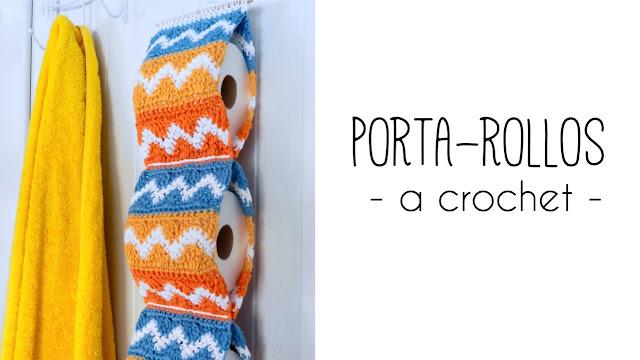 imagen portarollos papel higiénico ahuyama crochet