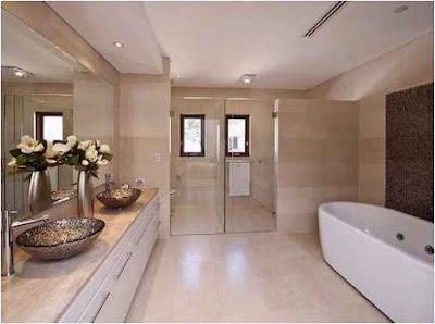 Truth on Bathroom Ideas With Corner Spa