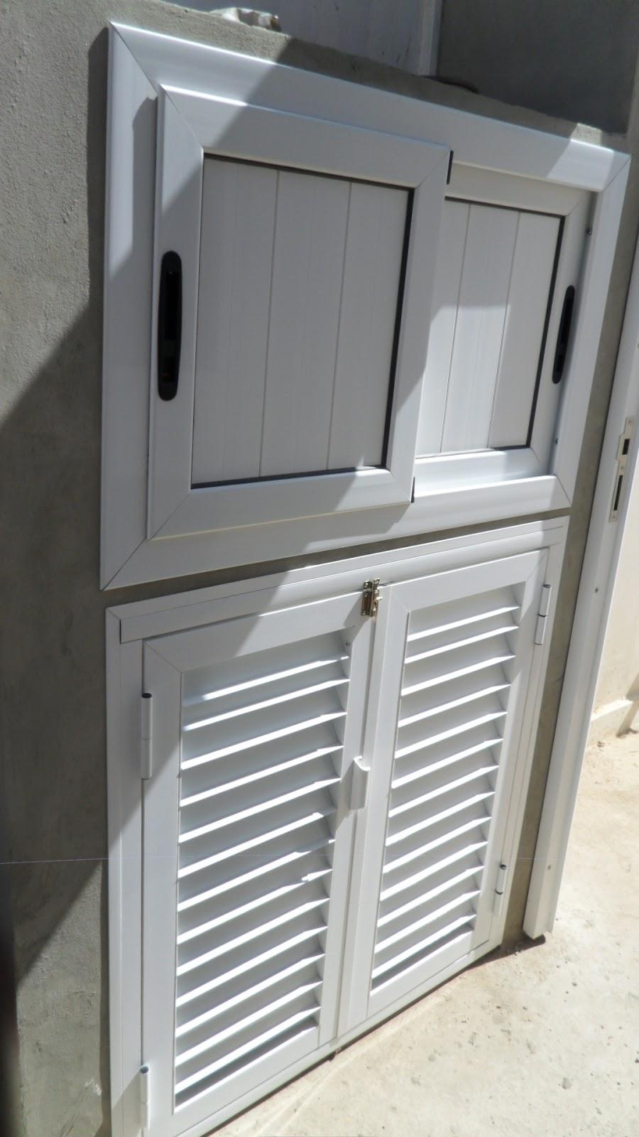 Puertas y ventanas punto fijo ventana tipo caroni con for Tipos de aluminio para ventanas
